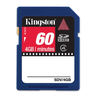 Kingston 4GB Secure Digital High Capacity (SDHC) Card - Class 4 - (2-