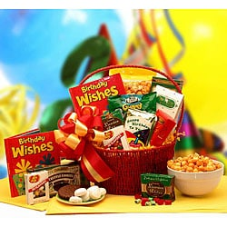 'Happiest of Birthday Wishes' Gift Basket