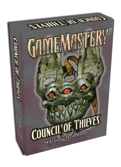 Gamemastery Council of Thieves: 54 Unique Item Cards (Cards)