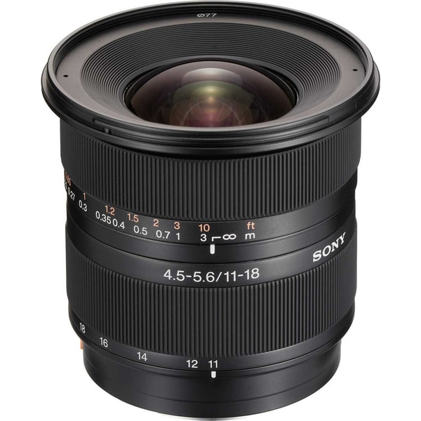 Sony SAL-1118 DT 11-18mm f/5.5-5.6 Super Wide Zoom Lens