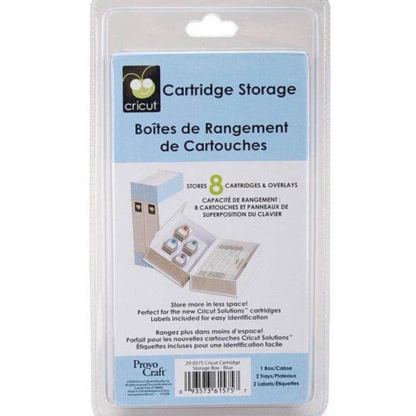 Cricut Blue Storage Binder