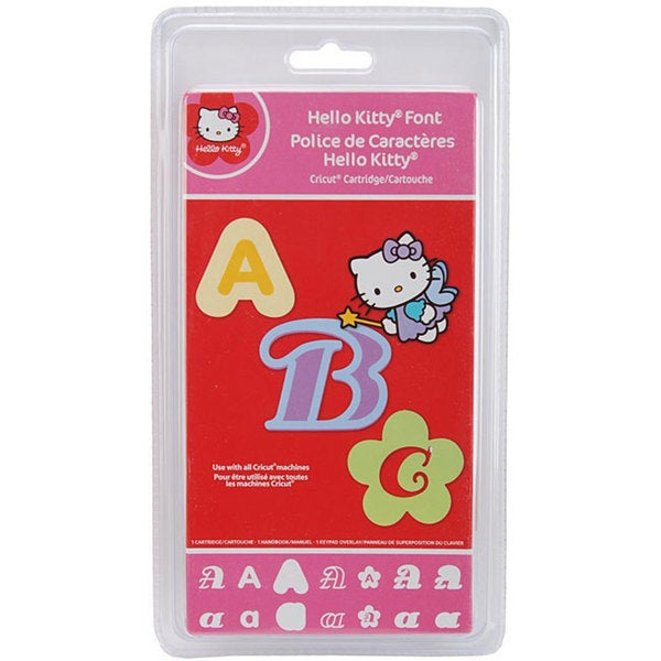 Cricut Hello Kitty Font Cartridge
