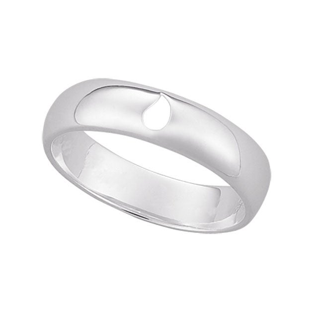 Sterling Silver Memorial Ring