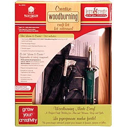 Walnut Hollow Creative Woodburning Kit II with Instruction Sheet