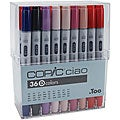 Copic Ciao 36-piece Marker Set (Set D)