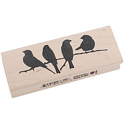 Inkadinkado 'Birds on a Branch' Rubber Stamp