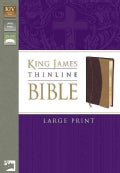 Holy Bible: King James Version, Burgundy/Carmel, Italian Duo-Tone, Thinline (Paperback)