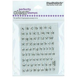 Stampendous 'Tiny Alphabet' Clear Stamps