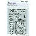 Stampendous 'Baby Invite' Clear Stamps