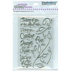 Stampendous 'Encouraging Words' Clear Stamps