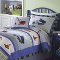 Trucks at Work 3-piece Quilt Set