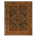 Safavieh Handmade Exquisite Blue/ Gold Wool Rug (8'3 x 11')