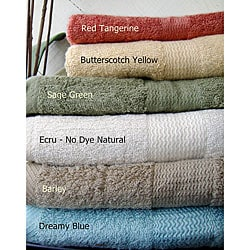 Pure Rayon From Bamboo Bath Towels (Set of 2)