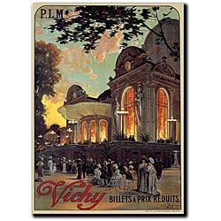 Louis Tauzin 'Vichy' Gallery-wrapped Canvas Art