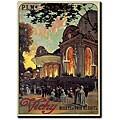 Louis Tauzin 'Vichy' Gallery-wrapped Canvas Art