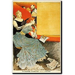 Eugene Grasset 'L'Odeon' Canvas Art