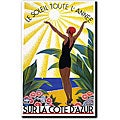 Roger Broders 'Sur La Cote D'Azur' Canvas Art