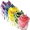 Yesac Unisex Plaid Fashion Scarf