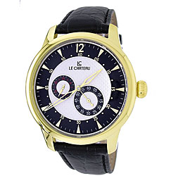 Le Chateau Men's Cautiva Collection Automatic Watch with Gold Hands