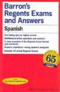 Barron's Regents Power Pack Spanish