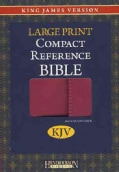 Holy Bible: King James Version, Berry, Imitation Leather, Large Print Compact Reference Bible W/Magnetic Flap (Paperback)