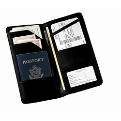 Royce Leather Passport Case