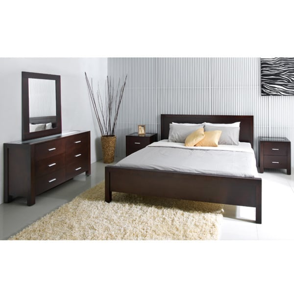 ABBYSON LIVING Hamptons 5 Piece King Size Platform Bedroom Set