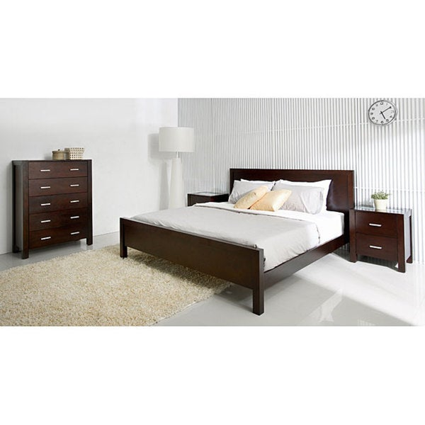 living hamptons 4 piece queen size platform bedroom set overstock