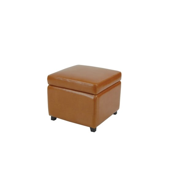 Safavieh Jonathan Storage Flip-top Saddle Ottoman