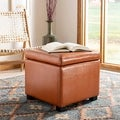 Safavieh Jonathan Flip-top Saddle Ottoman