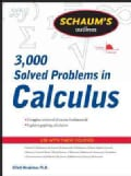 3000 Solved Problems in Calculus (Paperback)
