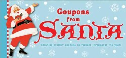 Coupons from Santa: Stocking Stuffer Coupons to Redeem Throughout the Year! (Paperback)