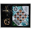 Seattle Mariners Team Picture Plaque Clock