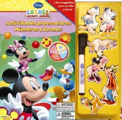 La casa de Mickey Mouse/ Preschool numbers and shapes (Hardcover)