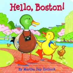 Hello Boston! (Board book)