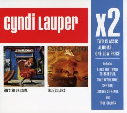 Cyndi Lauper - X2 (She's So Unusual/True Colors)