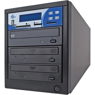 EZdupe MM02PIB 1:2 CD/DVD Duplicator