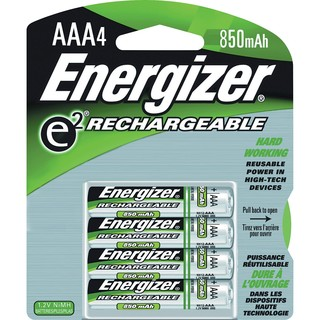 Energizer NH12BP-4 AAA Nickel Metal Hydride Rechargeable Battery