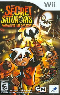 Wii - The Secret Saturdays: Beasts of The 5th Sun