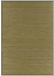 Wood-tone Rayon from Bamboo Rug (6' x 9')