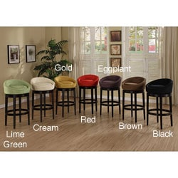 Igloo Swivel Microfiber Bar Stool