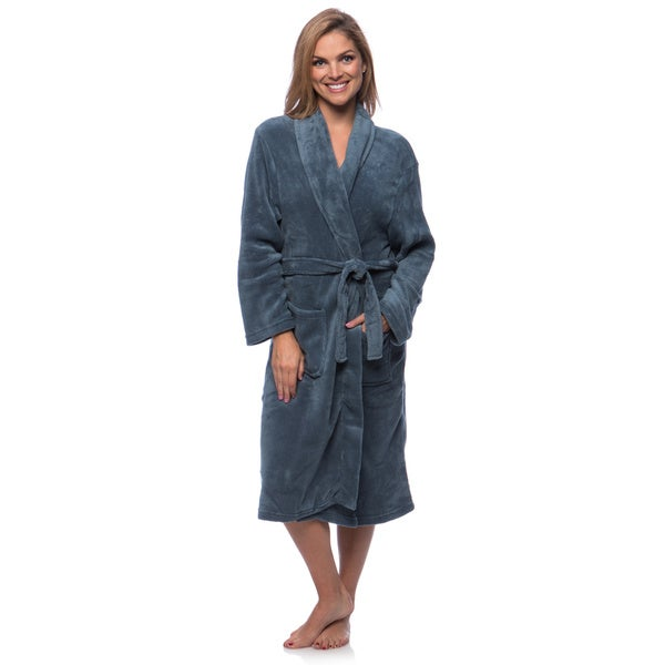 Touch of Class Microplush Bath Robe (As Is Item)