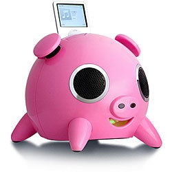 iPig Pink iPhone/ iPod Docking Station