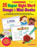 25 Super Sight Word Songs & Mini-Books