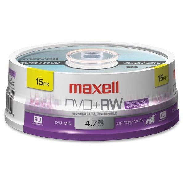 Maxell 4x DVD+RW Media