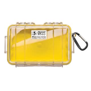 Pelican 1040 Micro Case with Yellow Liner