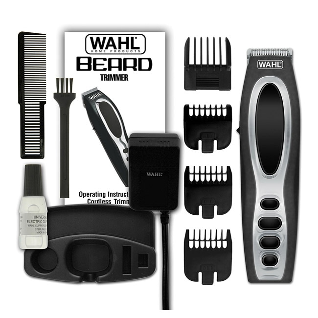 wahl rechargeable beard trimmer overstock shopping big discounts on wahl. Black Bedroom Furniture Sets. Home Design Ideas