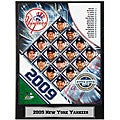 2009 New York Yankees 9x12-inch Photo Plaque