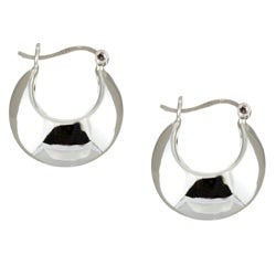 Sterling Essentials Sterling Silver Polished Hoop Earrings