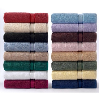 Celebration II Solid 6-piece Towel Set